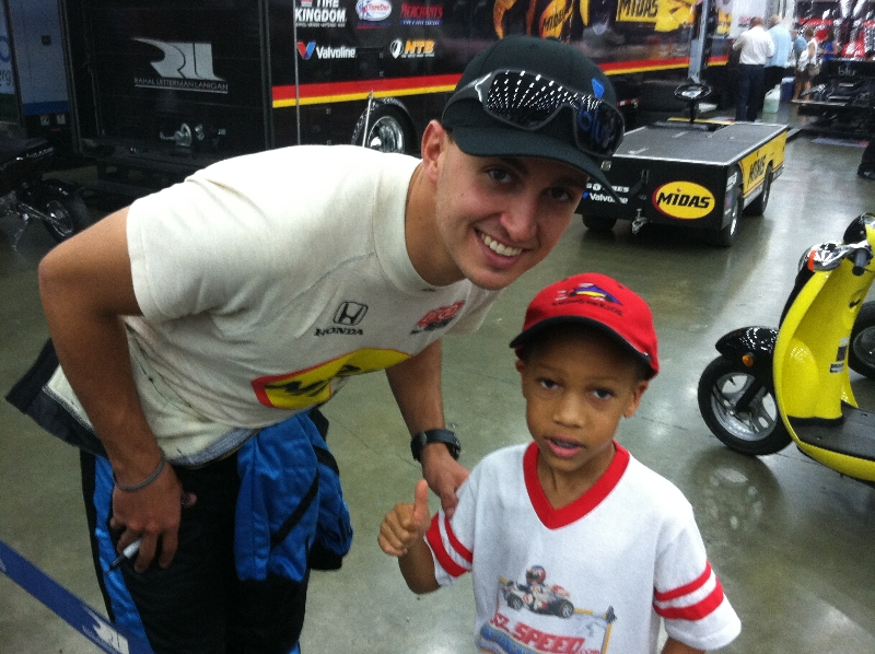 Graham Rahal Baltimore Grand Prix