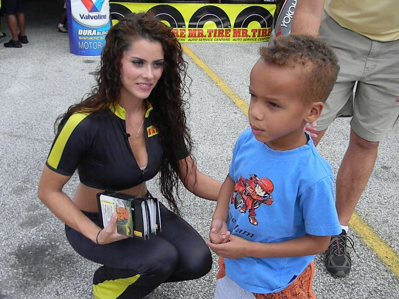 Grand Prix Baltimore Grid Girl