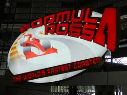 Formula Rossa (World's Fastest Roller Coaster) at Ferrari World, Abu Dhabi