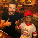 James Hinchcliffe Baltimore Grand Prix James Hinchcliffe dinner after race