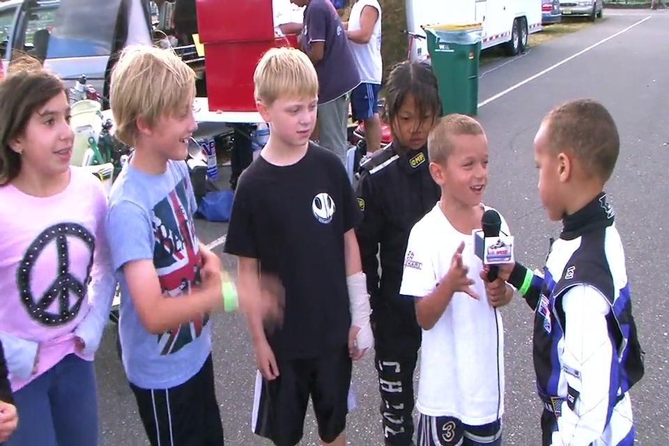 Cadet Kart racer interviews