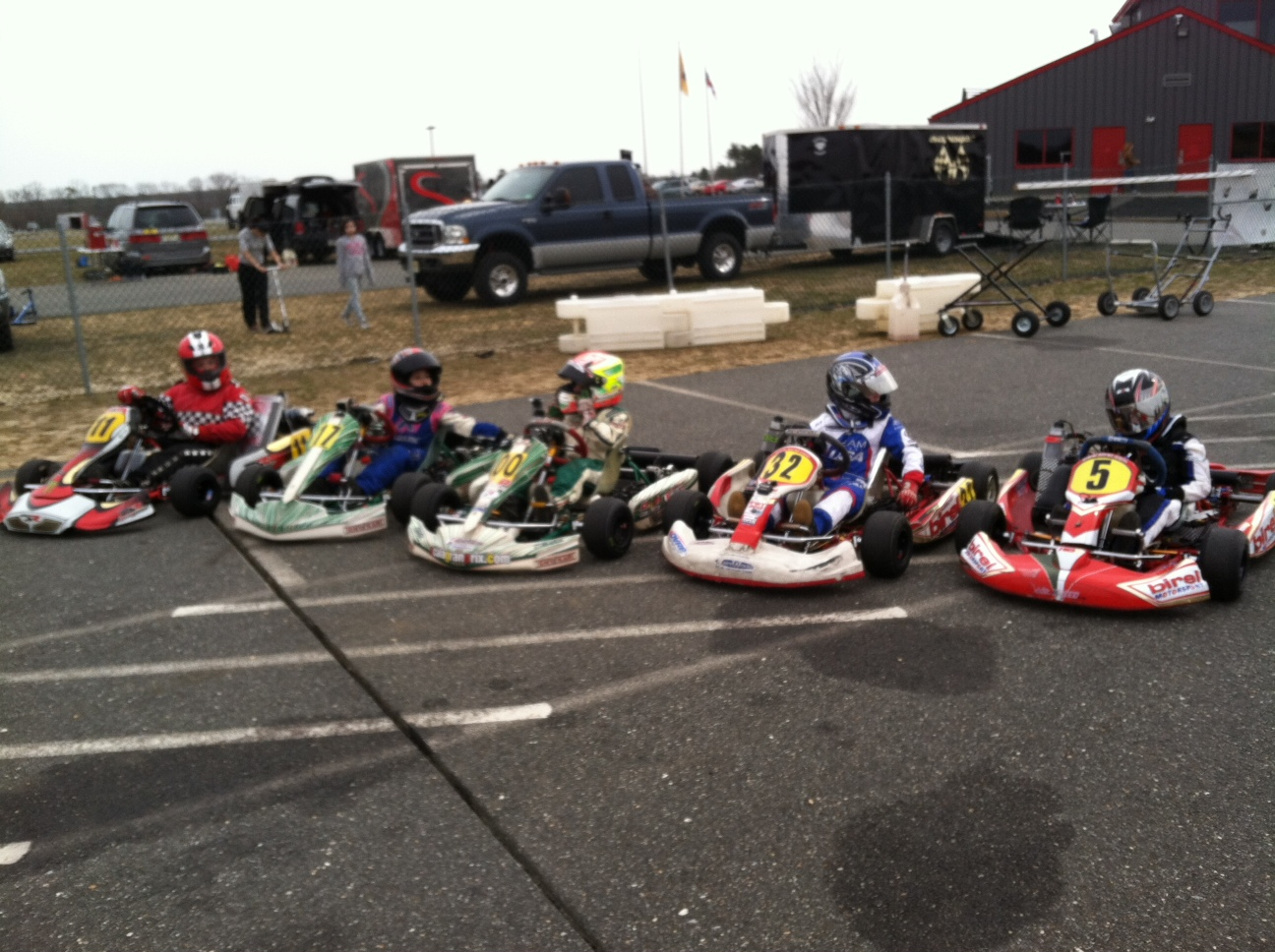 The 2014 racing season