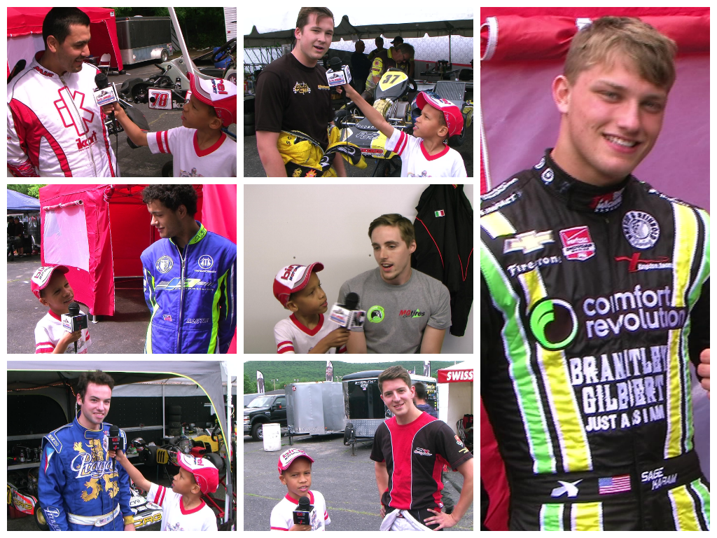 Karting racers interviewed by KidzSpeed at F-Series Gear Up Challenge #3 - June 2014, OVRP
