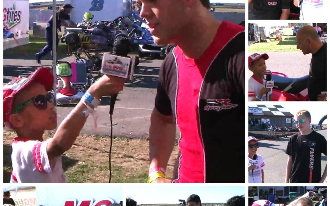 Interviews with F-Series racers and Four-time karting champion, Danny Formal, NJMP  Race #6