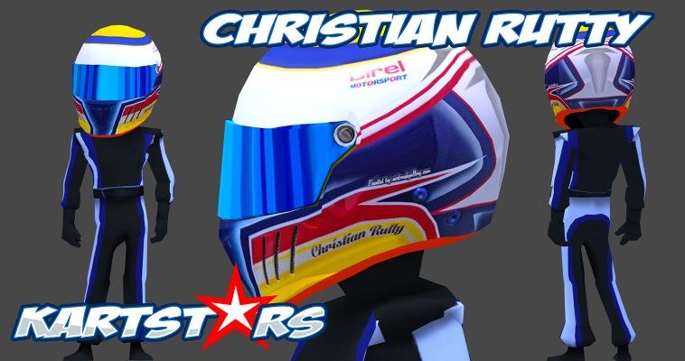 Kart Stars Driver Christian Rutty