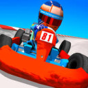 I am an official driver in the Kart Stars, Kart Racing game