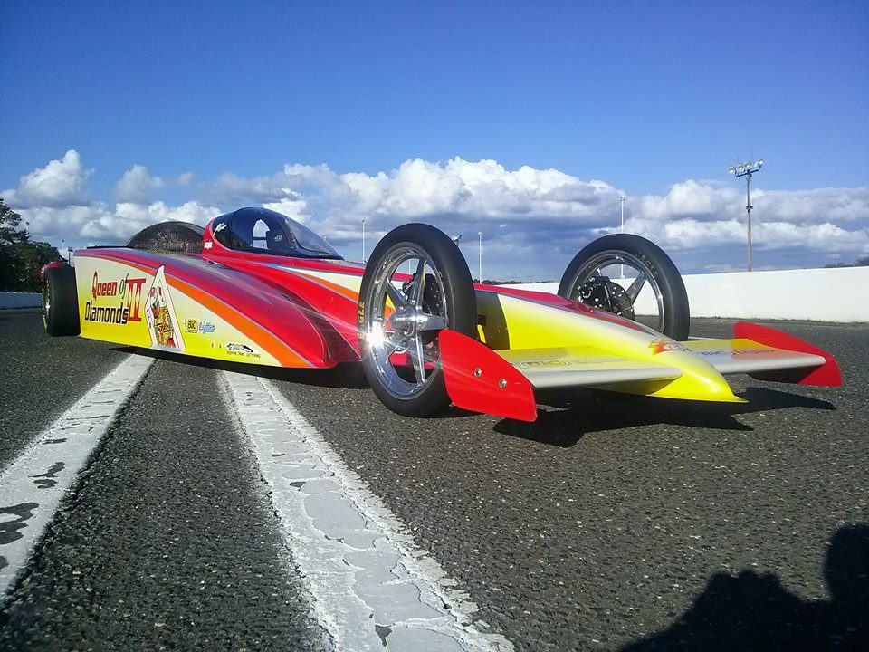Hanna Queen-of-Diamonds-Jet-Dragster One of a Kind